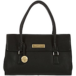 Pure Luxuries London - Black 'Nicola' fine leather bag - Deluxe Collection