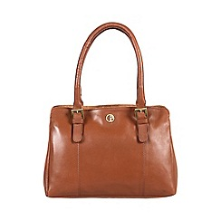 Pure Luxuries London - Nutmeg 'Dalton' fine leather handbag