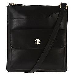 Pure Luxuries London - Black 'Weybridge' fine natural leather bag