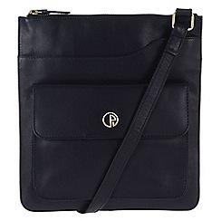 Pure Luxuries London - Navy 'Weybridge' fine natural leather bag
