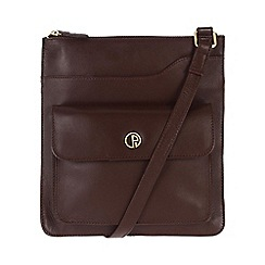 Pure Luxuries London - Burgundy 'Weybridge' fine natural leather bag