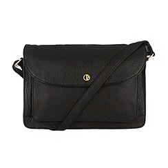 Pure Luxuries London - Black 'Carlisle' finest natural leather bag