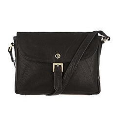 Pure Luxuries London - Black 'Penrith' finest natural leather bag