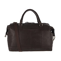 Pure Luxuries London - Brown 'Cabin' finest natural leather holdall