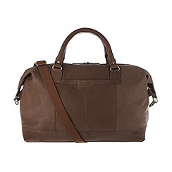 Pure Luxuries London - Chestnut 'Cabin' finest natural leather holdall