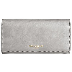 Pure Luxuries London - Silver 'Lina' natural leather RFID purse
