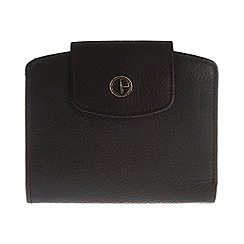 Pure Luxuries London - Black 'Willow' natural leather purse
