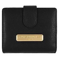 Pure Luxuries London - Black 'Hornsey' fine natural leather purse