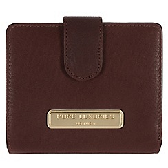 Pure Luxuries London - Brown 'Hornsey' fine natural leather purse