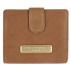 Pure Luxuries London - Camel 'Hornsey' fine natural leather purse