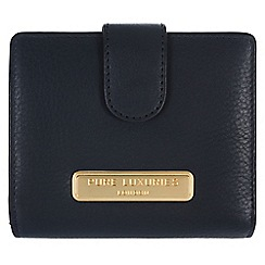 Pure Luxuries London - Navy 'Hornsey' fine natural leather purse