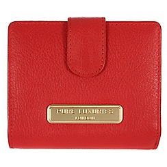 Pure Luxuries London - Red 'Hornsey' fine natural leather purse