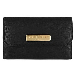 Pure Luxuries London - Black 'Windsor' fine natural leather purse