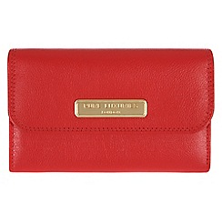 Pure Luxuries London - Red 'Windsor' fine natural leather purse
