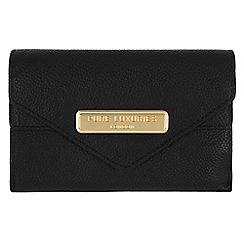 Pure Luxuries London - Black 'Lusk' fine natural leather purse