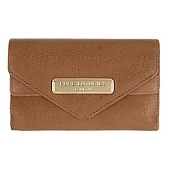 Pure Luxuries London - Camel 'Lusk' fine natural leather purse