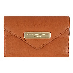 Pure Luxuries London - Copper tan 'Lusk' fine natural leather purse
