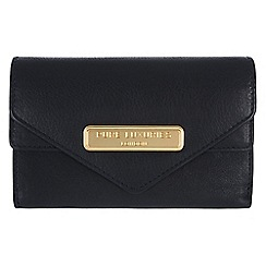 Pure Luxuries London - Navy 'Lusk' fine natural leather purse