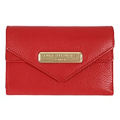 Pure Luxuries London - Red 'Lusk' fine natural leather purse