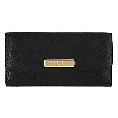 Pure Luxuries London - Black 'Perth' fine natural leather purse