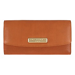 Pure Luxuries London - Copper tan 'Perth' fine natural leather purse