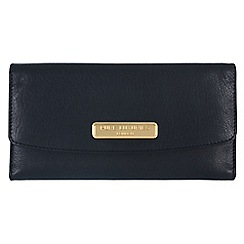 Pure Luxuries London - Navy 'Perth' fine natural leather purse