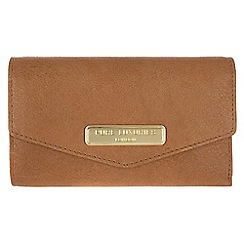 Pure Luxuries London - Camel 'Galway' fine natural leather purse