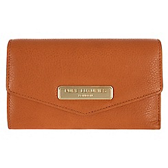 Pure Luxuries London - Copper tan 'Galway' fine natural leather purse