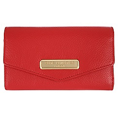 Pure Luxuries London - Red 'Galway' fine natural leather purse