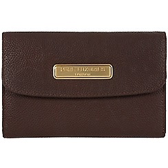 Pure Luxuries London - Brown 'Shelley' leather purse - Deluxe Collection