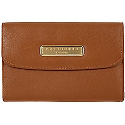 Pure Luxuries London - Tan 'Shelley' leather purse - Deluxe Collection
