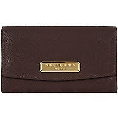Pure Luxuries London - Brown 'Austen' leather purse - Deluxe Collection