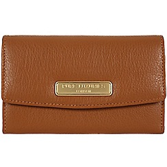 Pure Luxuries London - Tan 'Austen' fine leather purse - Deluxe Collection