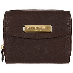 Pure Luxuries London - Brown 'Christie' leather purse - Deluxe Collection