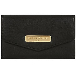 Pure Luxuries London - Black 'Anya' leather purse - Deluxe Collection