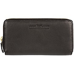 Pure Luxuries London - Black 'Loren' fine leather RFID purse  Deluxe Collection