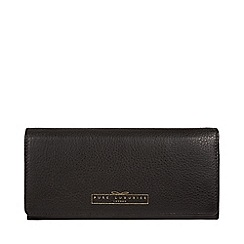 Pure Luxuries London - Black 'Gwendoline' RFID fine leather purse