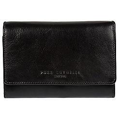 Pure Luxuries London - Black 'Henrietta' RFID leather purse