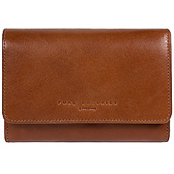 Pure Luxuries London - Tan 'Henrietta' RFID leather purse