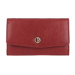 Pure Luxuries London - Red 'Carnforth' finest natural leather purse