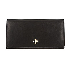 Pure Luxuries London - Black 'Ashford' finest natural leather purse