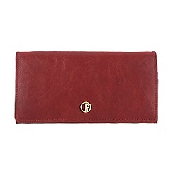Pure Luxuries London - Red 'Ashford' finest natural leather purse