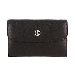Pure Luxuries London - Black 'Amesbury' finest natural leather purse