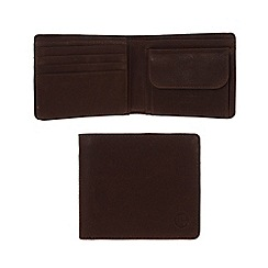 Pure Luxuries London - Brown 'Troon' fine natural leather wallet