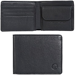 Pure Luxuries London - Oxford blue 'Troon' leather RFID wallet