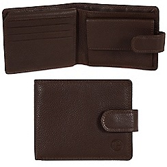 Pure Luxuries London - Brown 'Ramsey' leather wallet - Deluxe Collection