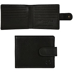 Pure Luxuries London - Black 'Settle' leather wallet - Deluxe Collection