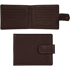 Pure Luxuries London - Brown 'Settle' leather wallet - Deluxe Collection