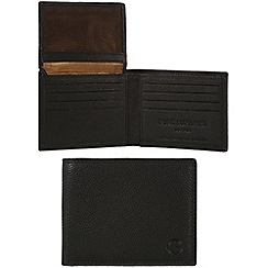 Pure Luxuries London - Black 'Holt' leather wallet - Deluxe Collection