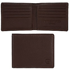 Pure Luxuries London - Brown 'Millom' leather wallet - Deluxe Collection